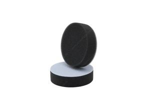 APS Pro Mini Poliermaschinenpad - Polierschwamm weich Ø50mm schwarz