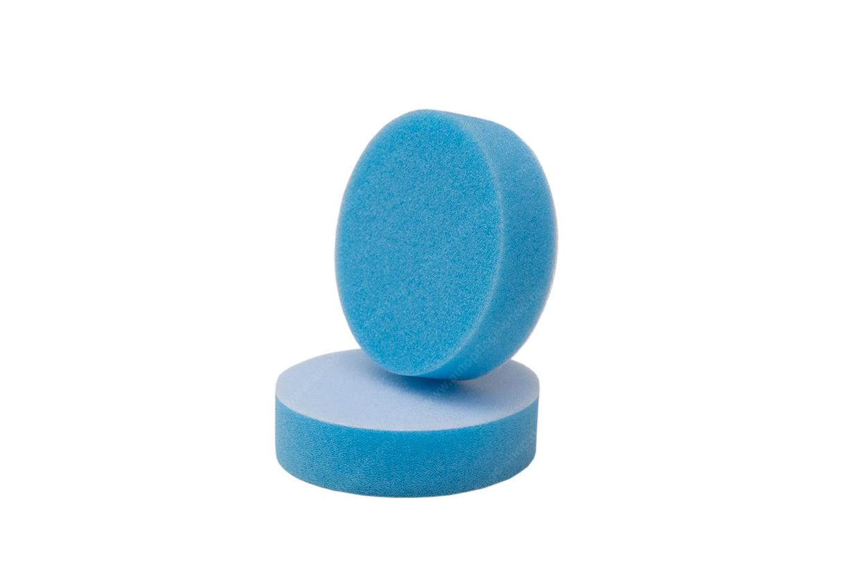 APS Pro Mini Poliermaschinenpad - Polierschwamm medium Ø50mm blau