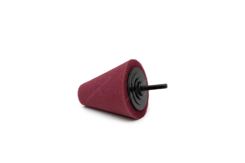 APS Pro Schaumstoff Polierkegel burgundy 80mm