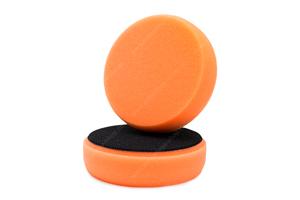 APS Basic Poliermaschinenpad - Polierschwamm hart Ø100mm orange
