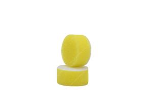 APS Pro Mini Poliermaschinenpad - Polierschwamm hart Ø30mm gelb