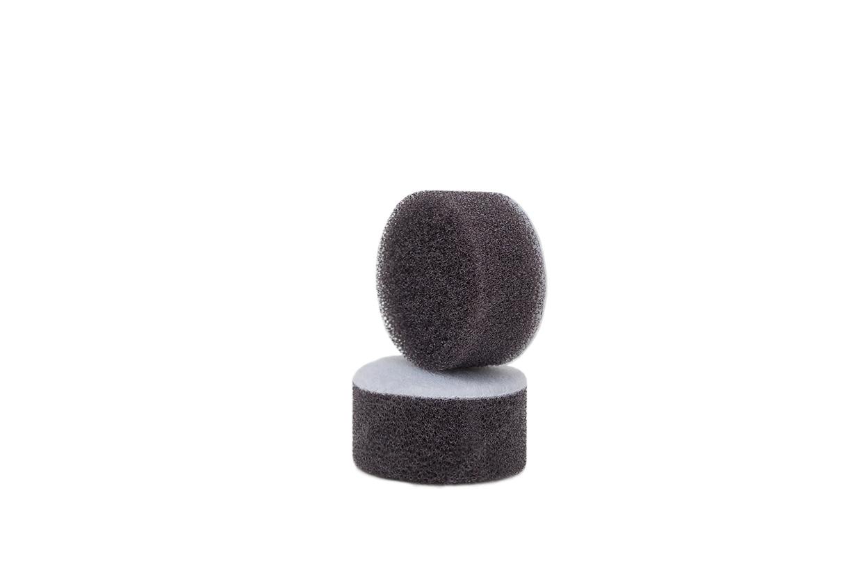 APS Pro Mini Poliermaschinenpad - Polierschwamm hart+ Ø30mm dunkelgrau