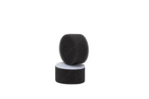 APS Pro Mini Poliermaschinenpad - Polierschwamm weich Ø30mm schwarz