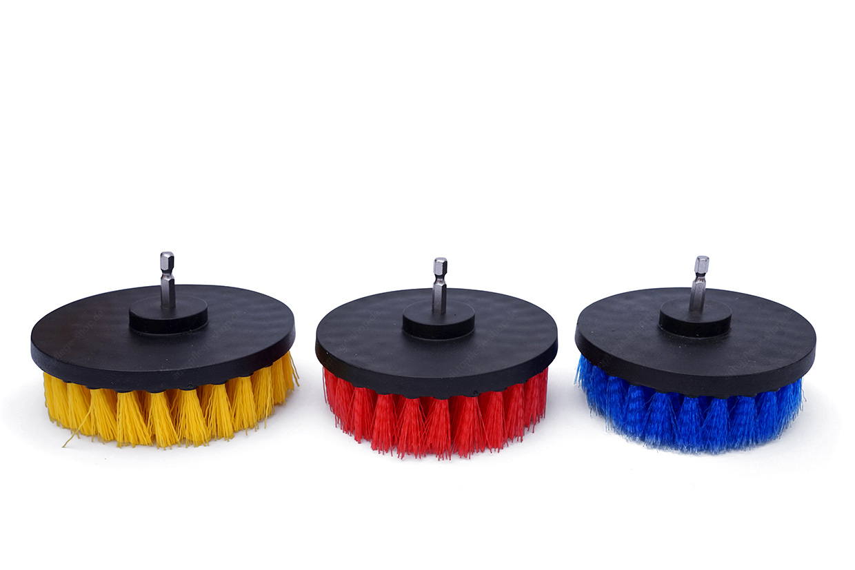 APS Basic Drill Brush XL - Rotationsbürste Ø125mm versch. Farben