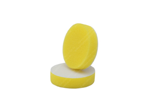 APS Pro Mini Poliermaschinenpad - Polierschwamm hart Ø50mm gelb