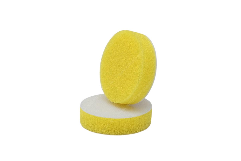 APS Pro Mini Poliermaschinenpad - Polierschwamm hart Ø40mm gelb