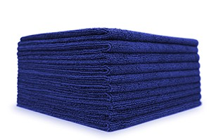 The Collection Allround & Coating Microfasertücher 10er Pack royal blau
