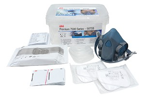 3M Premium Lackiermasken-Set 7500 A2/P3 medium
