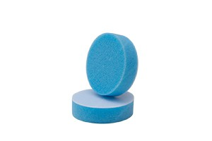 APS Pro Mini Poliermaschinenpad - Polierschwamm medium Ø50mm blau