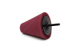 APS Pro Schaumstoff Polierkegel burgundy 80mm