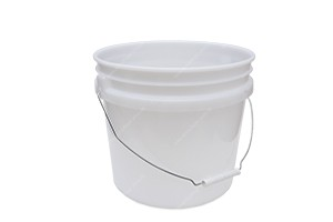 APS Premium 3,5 GAL Wash Bucket - 13,5 L Wascheimer semi-transparent