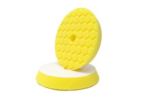APS Pro Honeycomb Poliermaschinenpad - Polierschwamm hart Ø149mm gelb