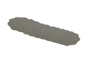 APS Pro kletthaftende Schleifblüten P3000 Körnung 35mm 10St.