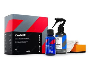 CarPro CQuartz UK-Edition v3.0 Paint Protection - Keramikversiegelung 30ml Kit Pack