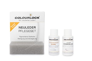 Colourlock Neuleder Pflegeset MINI Reiniger stark + Versiegelung