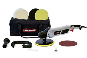Dino Kraftpaket 640228 - Rotations-Poliermaschine 1500 Watt