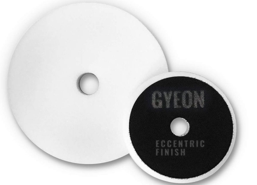 Gyeon Q2M Eccentric Finish Pads weiß Ø80mm -  2er Pack