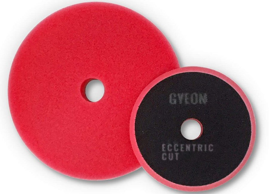 Gyeon Q2M Eccentric Cutting Pads rot  Ø80mm -  2er Pack