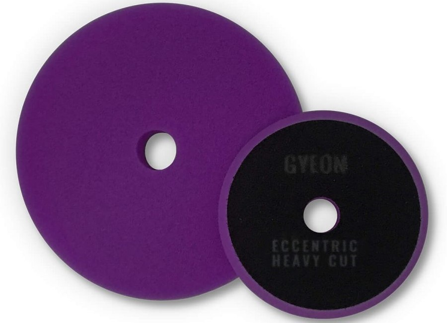 Gyeon Q2M Eccentric Heavy Cutting Pads lila Ø80mm -  2er Pack