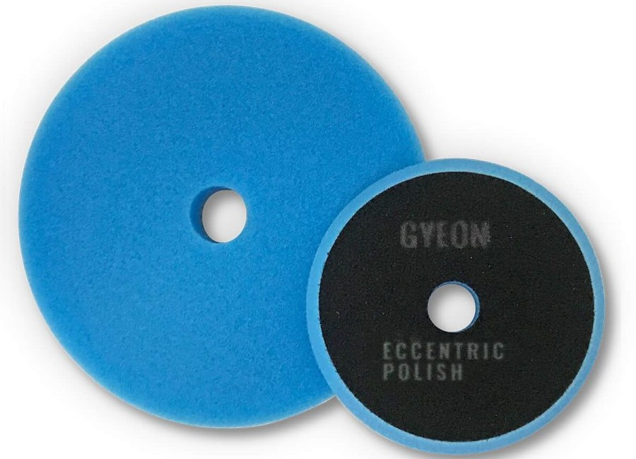 Gyeon Q2M Eccentric Polish Pads blau Ø80mm -  2er Pack