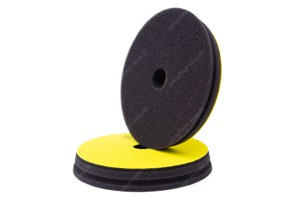 Koch Chemie Fine Cut Pad - Polierschwamm Step2 Ø150-165mm gelb