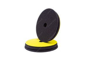 Koch Chemie Fine Cut Pad - Polierschwamm Step2 Ø126-140mm gelb