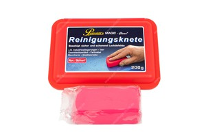 Magic Clean Reinigungsknete rot 200gr.