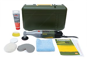 Proxxon Winkelpolierer WP/E WPE - Mini-Rotationspolierer -  ready for PP30 & PP50