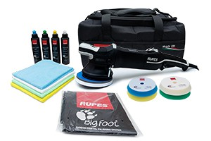 Rupes Bigfoot LHR15 MARK III - Exzenter Poliermaschine 15mm DELUXE Set