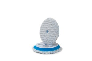 Rupes BigFoot Blue Wool Pad - WollePolierpad coarse Ø80/90mm blau