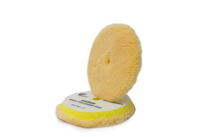 Rupes BigFoot Yellow Wool Pad - WollePolierpad medium Ø130-145mm gelb