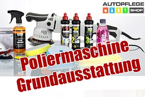 Liquid Elements T3000 V2 Exzenter Poliermaschine - Starterset aus den Video!