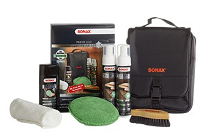 Sonax  PremiumClass LederPflegeSet - Glattlederpflege 6tlg.