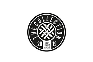 The Collection Black and White Sticker 9,5cm