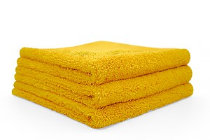 The Collection Dual Pile 40 x 40cm 3er Pack gold