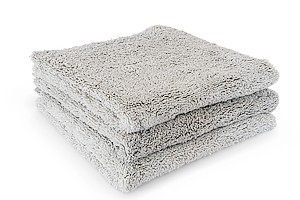 The Collection Dual Pile 40 x 40cm 3er Pack icegrey