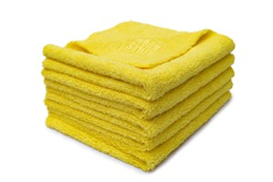 WORK STUFF Gentleman Basic Yellow - Microfasertuch gelb 5er-Pack