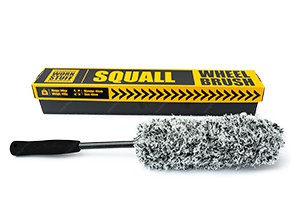 Work Stuff Squall Wheel Brush - Microfaser Felgenbürste 46cm