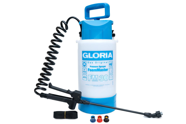 Gloria FoamMaster FM30 - kompakter Großflächen-Schaumsprüher 5L