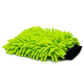 APS Basic Zottel Microfaser Waschhandschuh