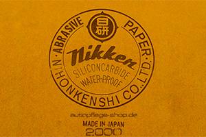 Nikken Nass Schleifpapier 2000
