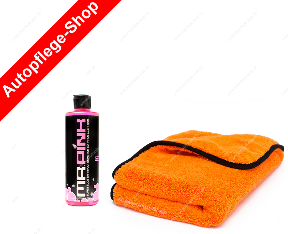 chemical guys mr pink super foam shampoo liquid. Black Bedroom Furniture Sets. Home Design Ideas