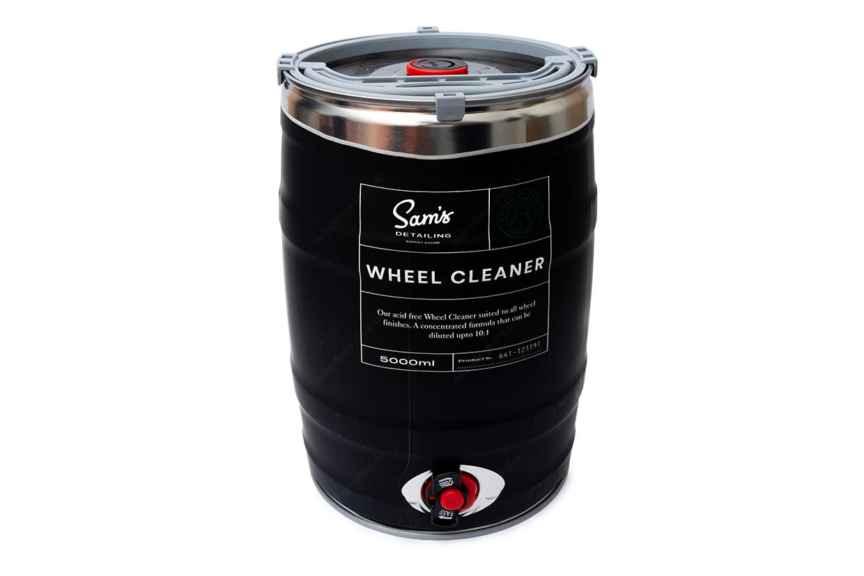 Sam's Detailing Wheel Cleaner Keg - säurefreier Felgenreiniger 5L