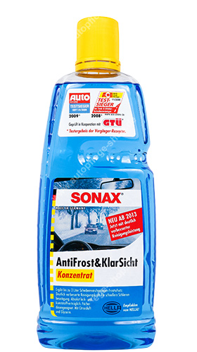 sonax antifrost klarsicht konzentrat 1000ml online kaufen im autopflege shop. Black Bedroom Furniture Sets. Home Design Ideas