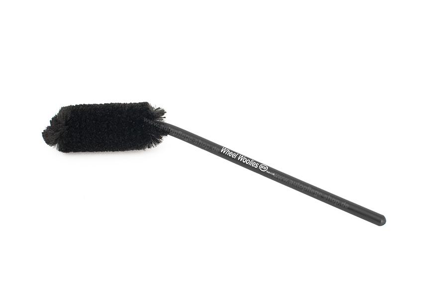 Wheel Woolies Caliper Spoke Brush abgewinkelte Felgenbürste