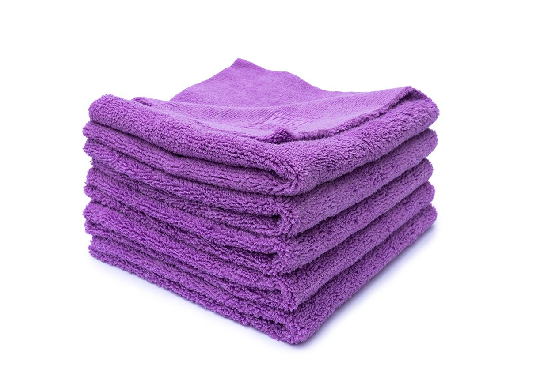 WORK STUFF Gentleman Basic Purple - Microfasertuch lila 5er-Pack