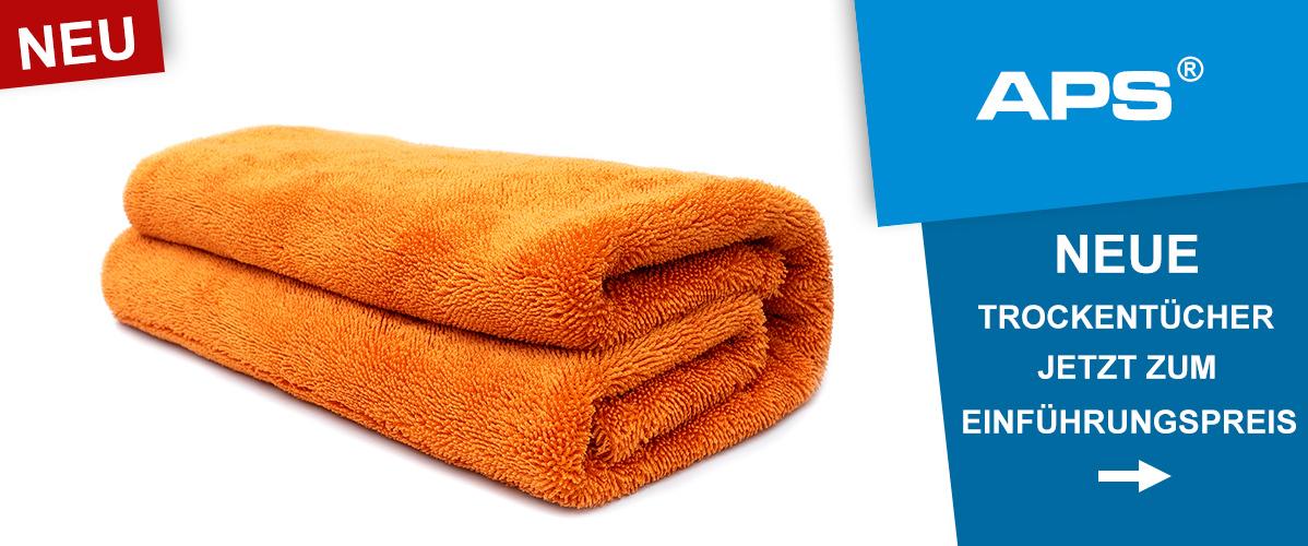APS Premium Trockentücher: Gobi, Sahara und Sahara XL jetzt zum Einführungspreis bei Autopflege-Shop.de!
