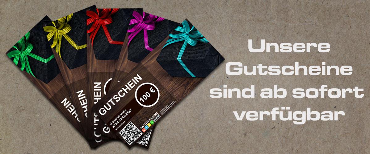 Digitale Gutscheine / Geschenkkarten jetzt bei uns im Shop!